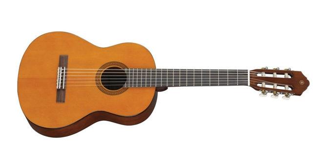 """Klasická kytara, někdy také nazývaná """"španělka""""."""