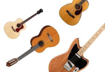 Jak vybrat kytaru