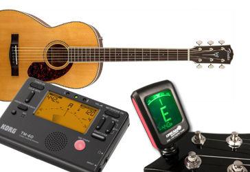 Jakou vybrat ladičku na kytaru