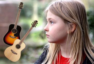 Jak vybrat dětskou kytaru