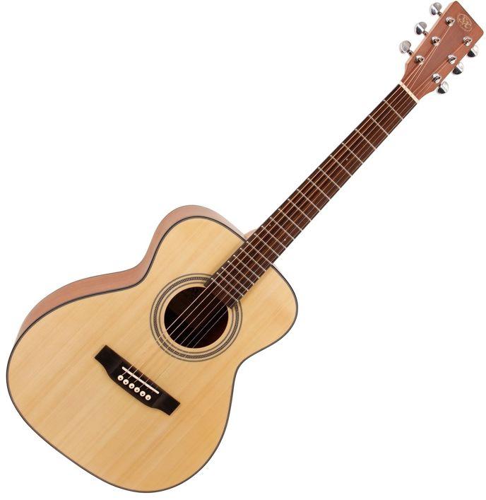 Kytara typu Jumbo.