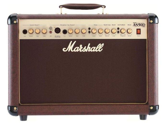 Kombo na akustickou kytaru značky Marshall.